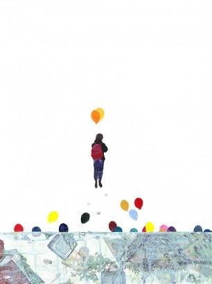 Joy///Acrylic on Paper 2014